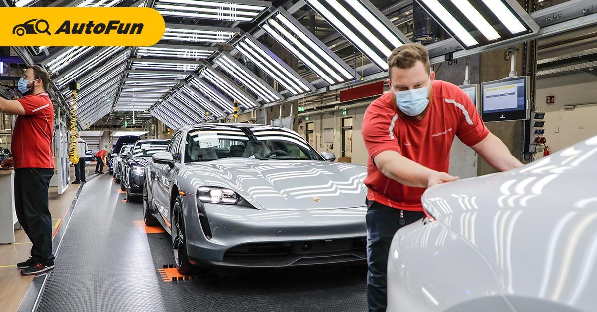 """Porsche ยอมแบกต้นทุนสูงกว่าเพื่อผลิตในเยอรมนีดีกว่าประทับตรา """"Made in China"""" 01"""