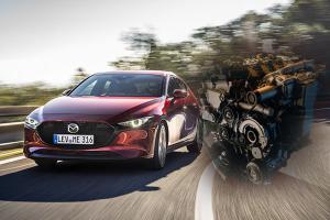 Mazda 3 Skyactiv-X เฮือกสุดท้ายของเครื่องยนต์สันดาป แต่ถ้ามาก็ไม่ใช่คู่แข่งของ Honda Civic Turbo?