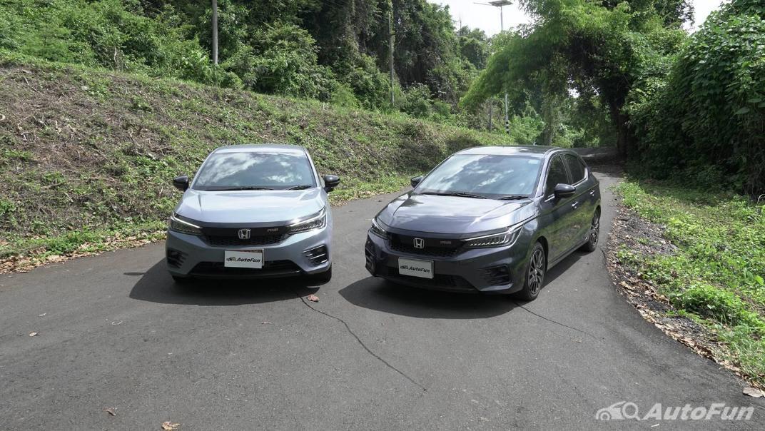 2021 Honda City Hatchback e:HEV RS Exterior 012