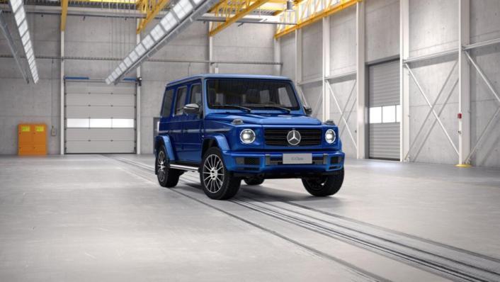 Mercedes-Benz G-Class Public 2020 Exterior 008
