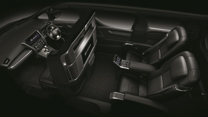 Lexus LM 2020 Interior 003