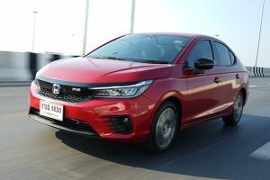 Review 2021 Honda City e:HEV อีโคคาร์ตัวท็อป 8.39 แสนบาท หวังคว่ำ Mazda 2 ดีเซล