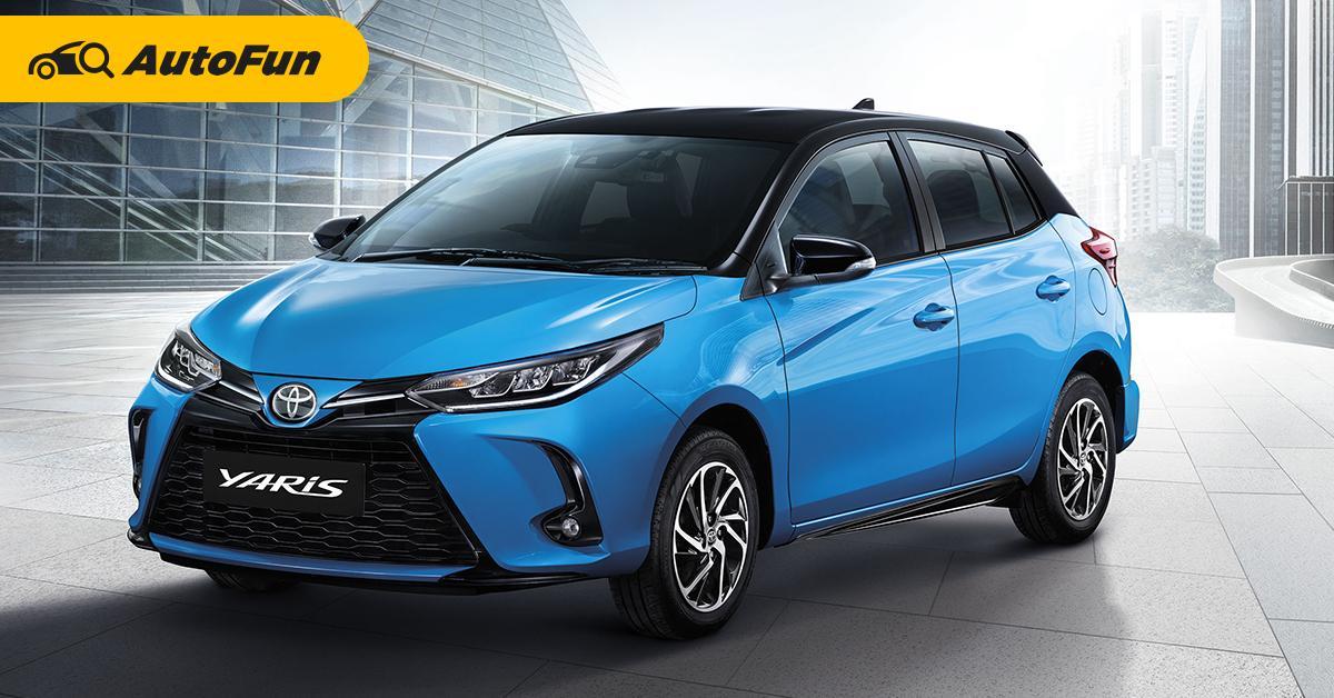 โตโยต้า แนะนำ 2020 Toyota Yaris และ Yaris Ativ ปรับโฉมใหม่ ขยับราคาขึ้น 1-3 หมื่นบาท 01