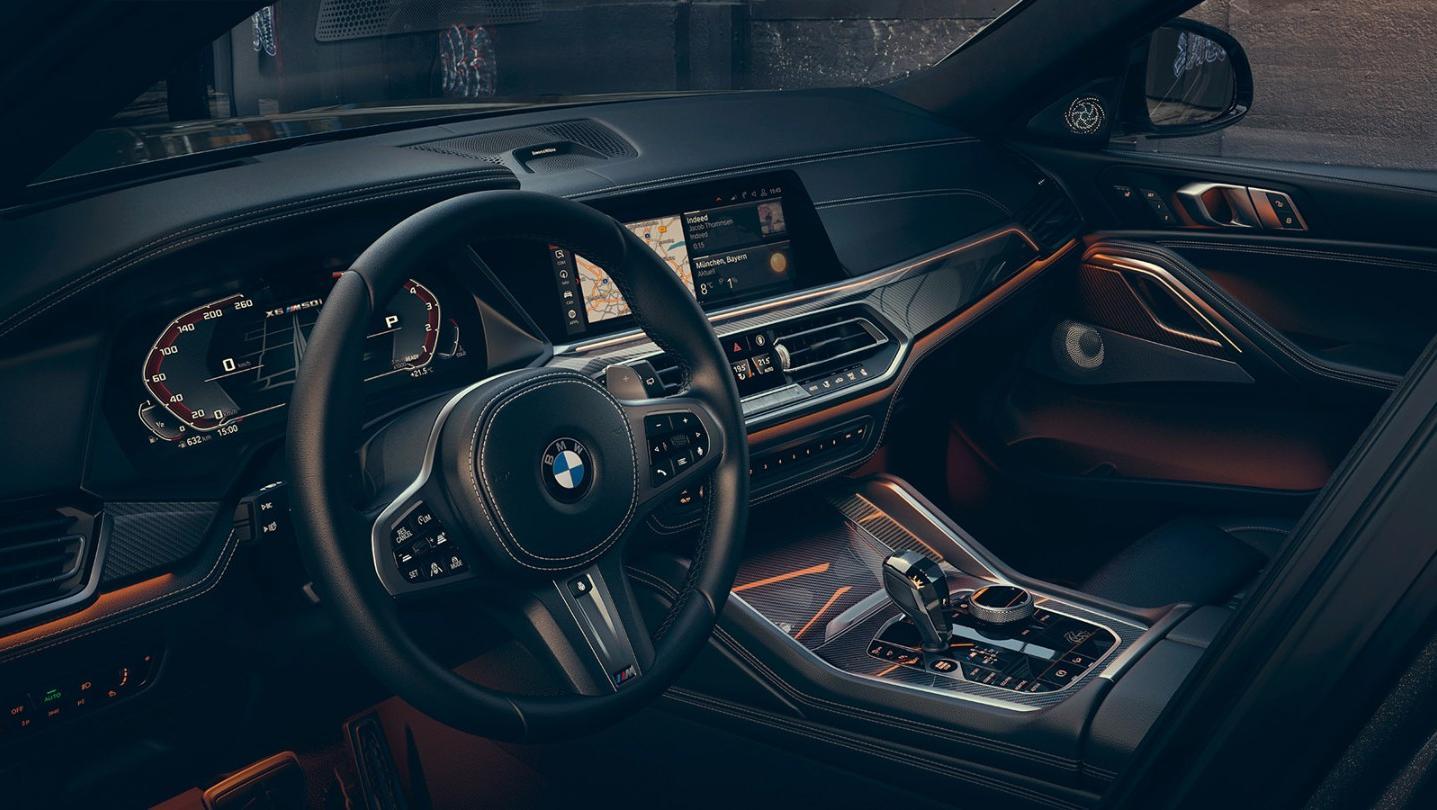 BMW X6 2020 Interior 001