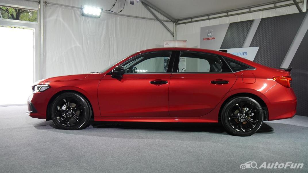 2022 Honda Civic RS Exterior 062