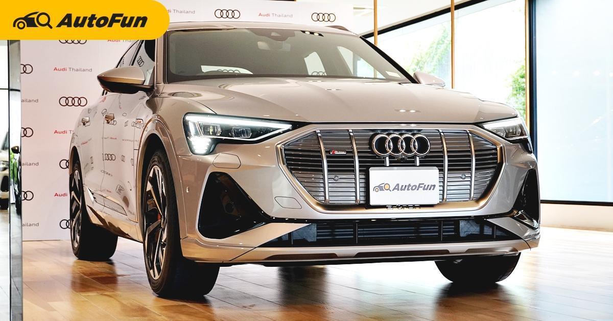 ชมคันจริง 2020 Audi e-Tron Sportback ขายไทยในราคา 5.299 ล้านบาท มีดีแค่หลังคาลาดลงรึเปล่า? 01