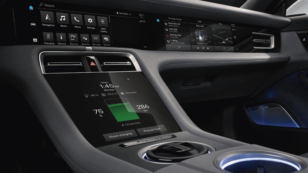 2020 Porsche Taycan Interior 006
