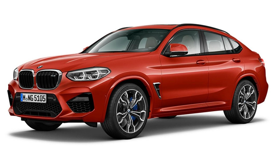 BMW X4-M 2020 Exterior 011