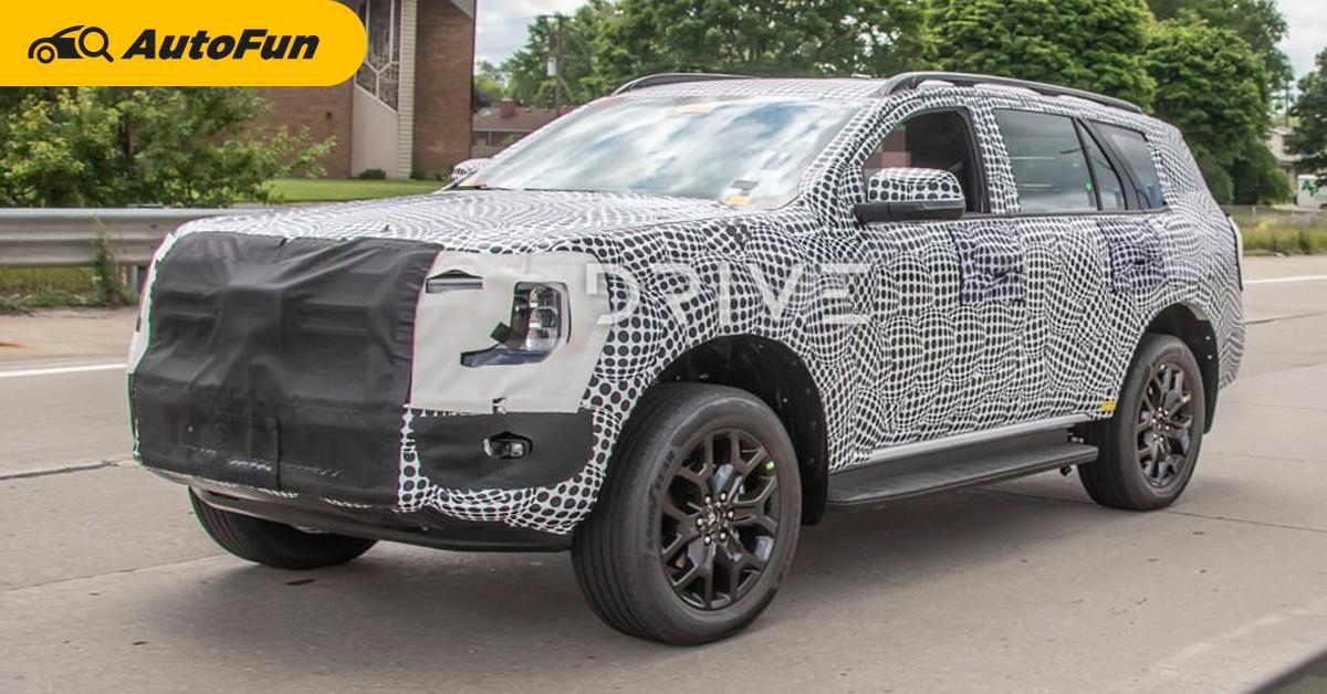 สปายช้อตชัด ๆ 2022 Ford Everest ใหม่ ลุ้นได้ดีเซล V6 เทอร์โบทรงพลัง เข้าไทยแทน Bi-Turbo ไหม 01