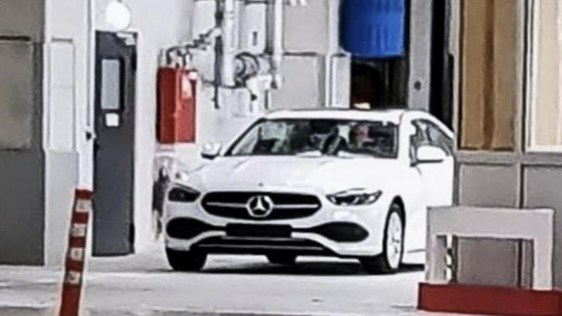 Spyshot 2021 Mercedes-Benz C-Class W206 ไร้ลายพราง 02