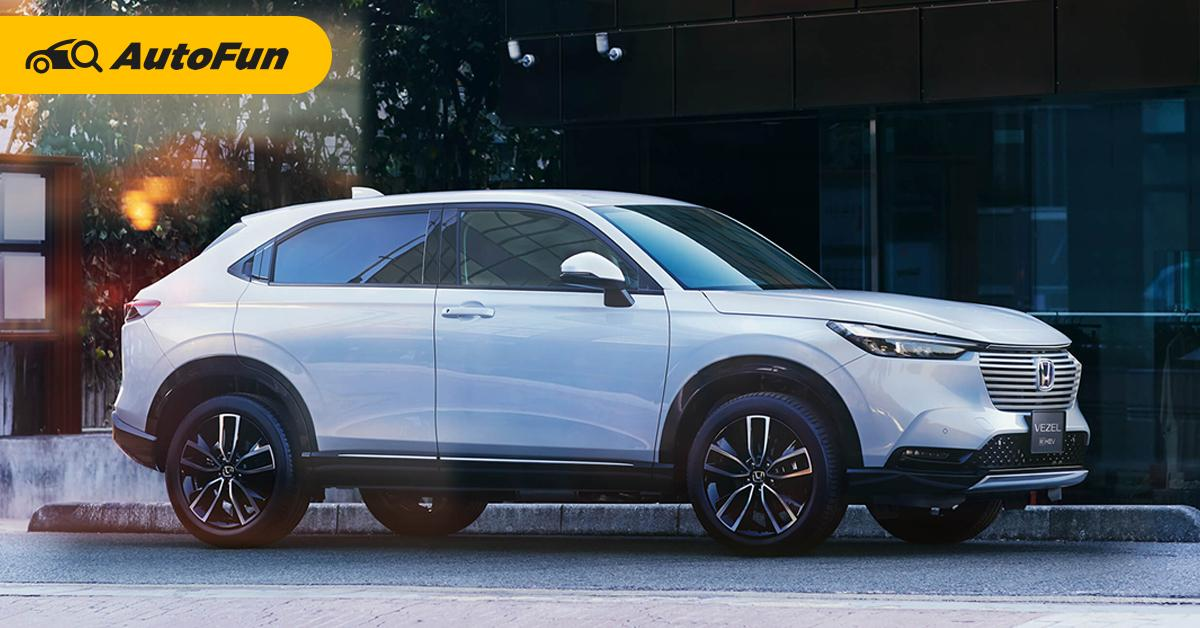 2021 Honda HR-V ใหม่ ยอดจองทะลุ 32,000 คัน มาชมกันเครื่องยนต์อะไร-สีไหนขายดีสุด 01