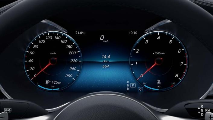Mercedes-Benz C-Class Estate Public 2020 Interior 006