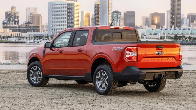 พาชม 2022 Ford Maverick เตรียมพบหน้าตาแบบนี้กับ 2022 Ford Ranger ใหม่ 02
