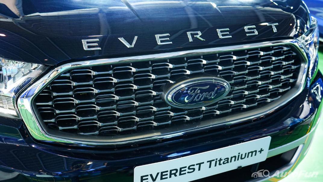 2021 Ford Everest Titanium+ Exterior 023