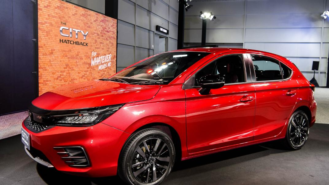 2021 Honda City Hatchback 1.0 Turbo RS Exterior 021