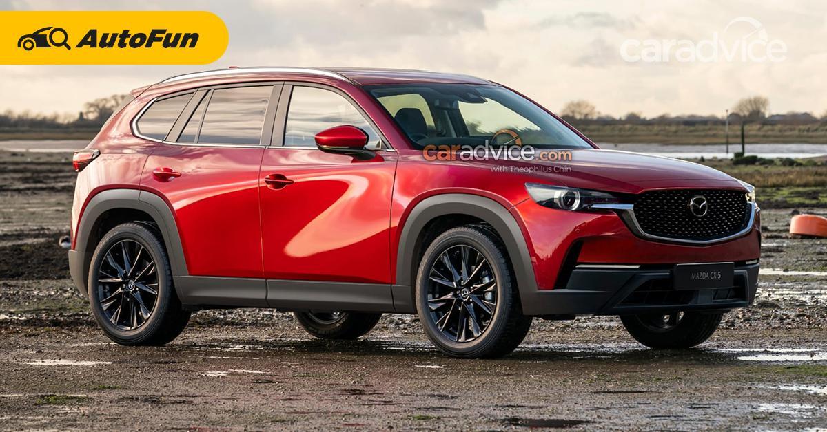 เรนเดอร์เหมือนจริง 2022 Mazda CX-5 รุ่นใหม่ หน้าดุแบบนี้สู้ Haval H6 ไหวไหม? 01