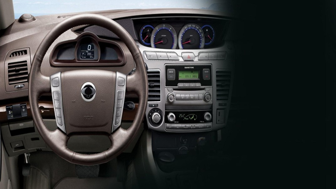 Ssangyong Stavic 2020 Interior 002