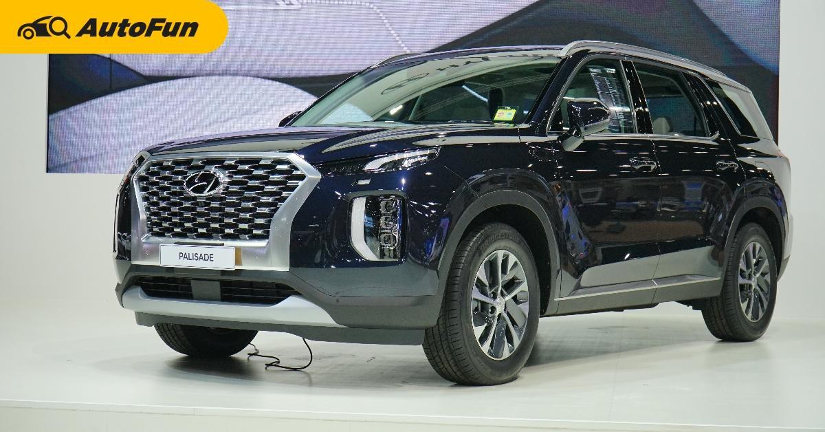 ชมคันจริง Hyundai Palisade เซอร์ไพรสไซส์ยักษ์จากเกาหลี มาโชว์ในไทย แต่ไม่ขาย 01