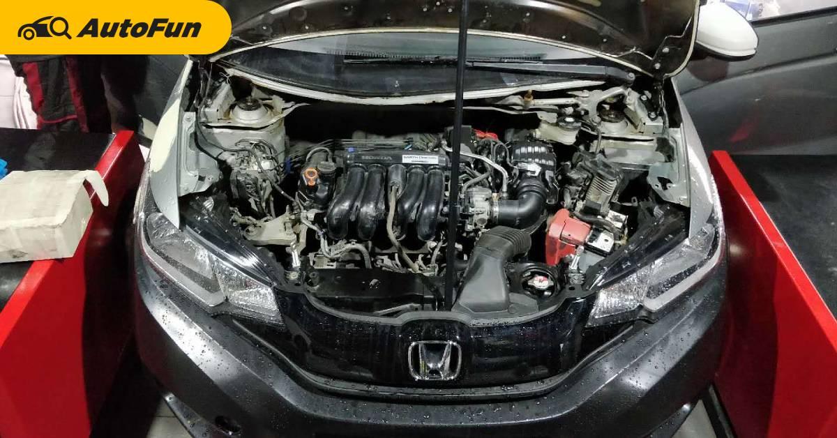 ทดสอบเครื่อง 2021 Honda Jazz เร่งรอบสุดขีดแดง 100 ชั่วโมง เทียบเท่าการขับรถจริง 50 ปี 01