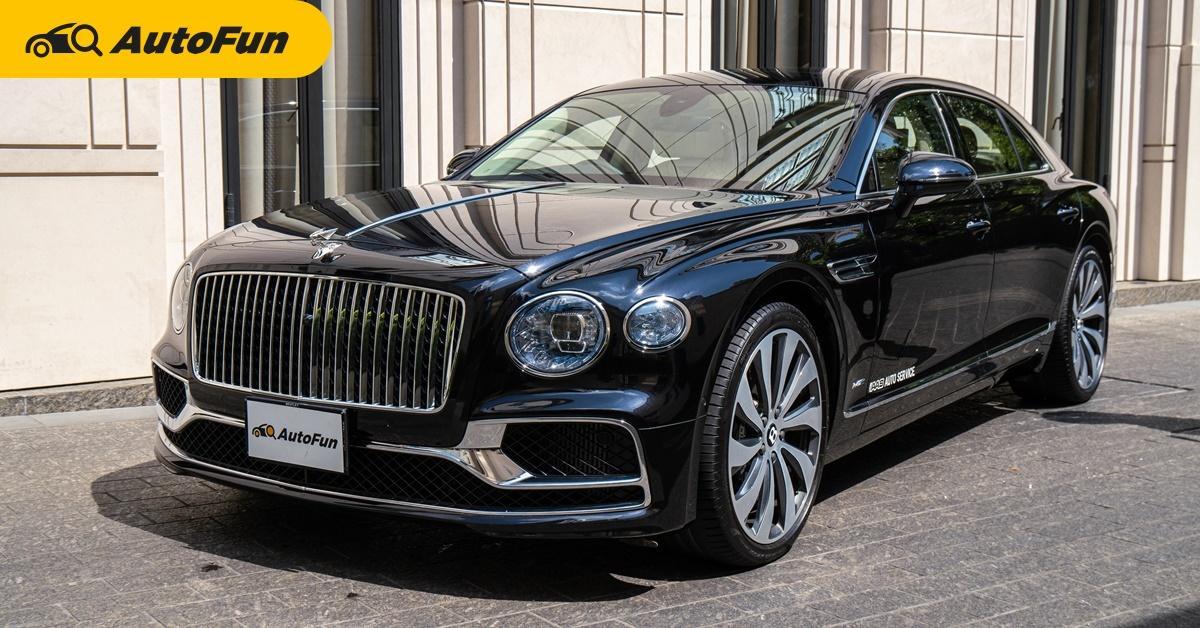 รีวิว 2021 Bentley Flying Spur W12 ตัวท็อปสุดจัดในรุ่น 25.99 ล้านบาท 0-100 ต่ำกว่า 4 วิ เขาวิ่งกันแบบนี้!!! 01