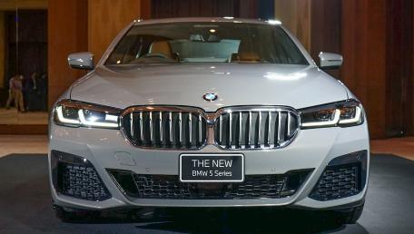 2021 BMW 5 Series Sedan 530e M Sport ราคารถ, รีวิว, สเปค, รูปภาพรถในประเทศไทย | AutoFun
