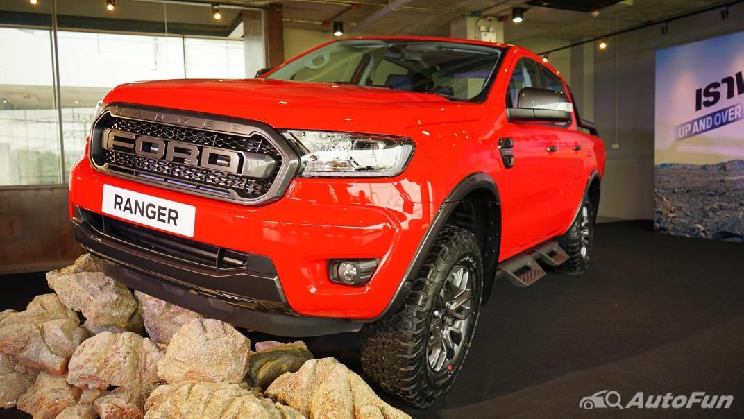 2021 Ford Ranger FX4 MAX Exterior 010
