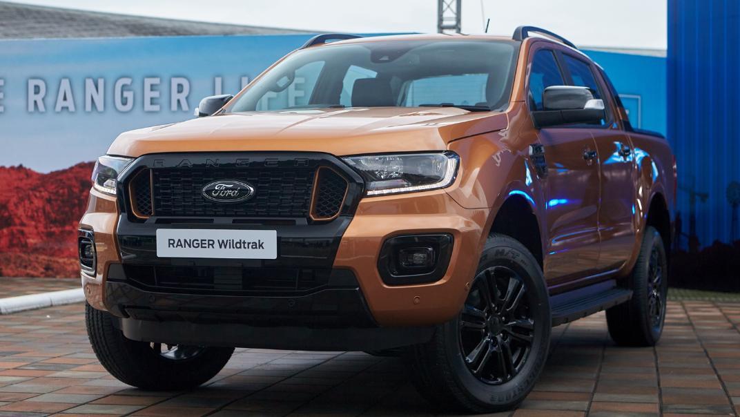 2021 Ford Ranger Wildtrak Exterior 002