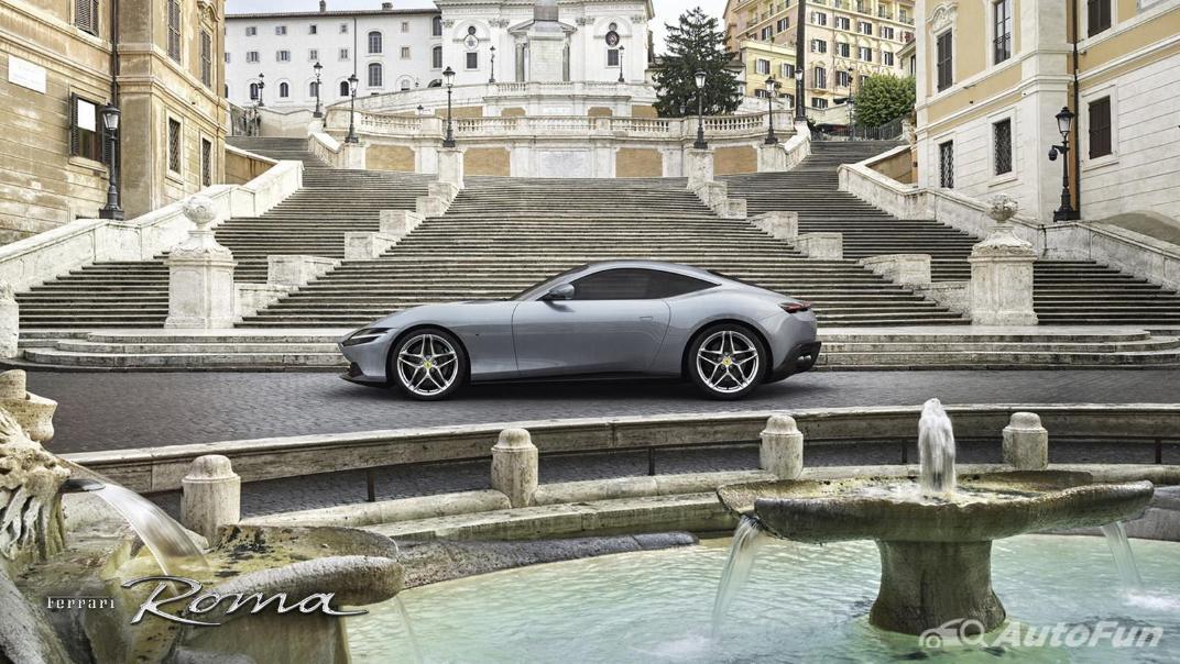2020 3.9 Ferrari Roma Turbo Exterior 002