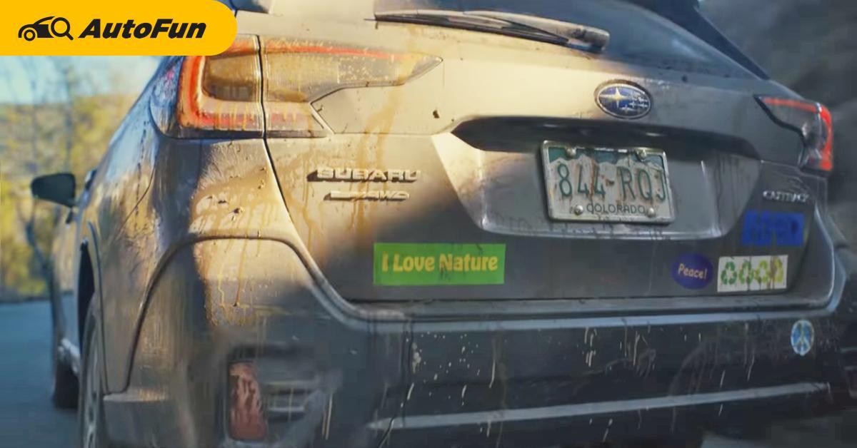 2021 Subaru Outback โดนรถโฟล์คแซวเพราะเป็นแบรนด์ที่ไม่มีรถไฟฟ้าล้วน 01