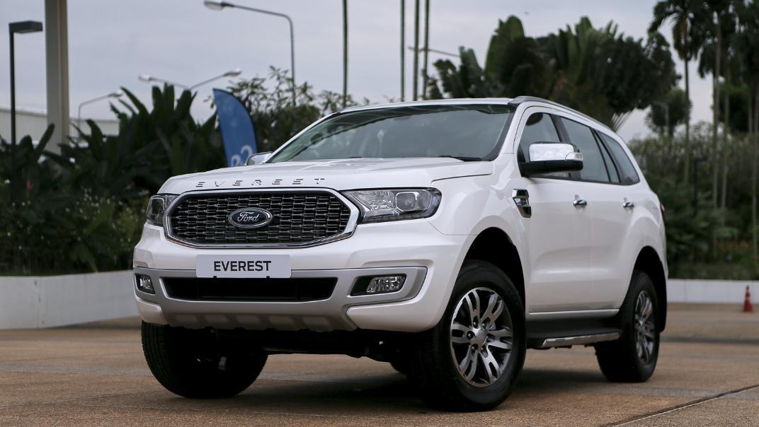 2021 Ford Everest Titanium Exterior 001