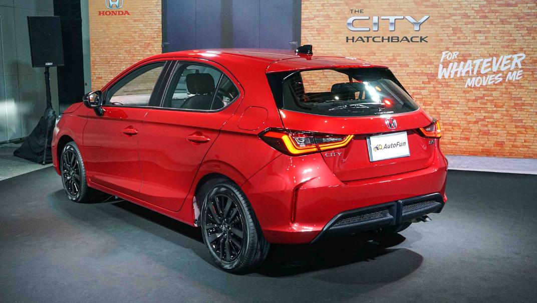 2021 Honda City Hatchback 1.0 Turbo RS Exterior 054