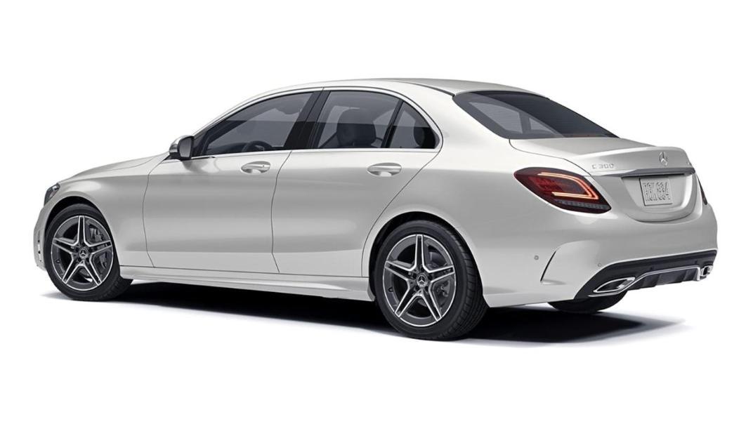 Mercedes-Benz C-Class Saloon Public 2020 Exterior 007
