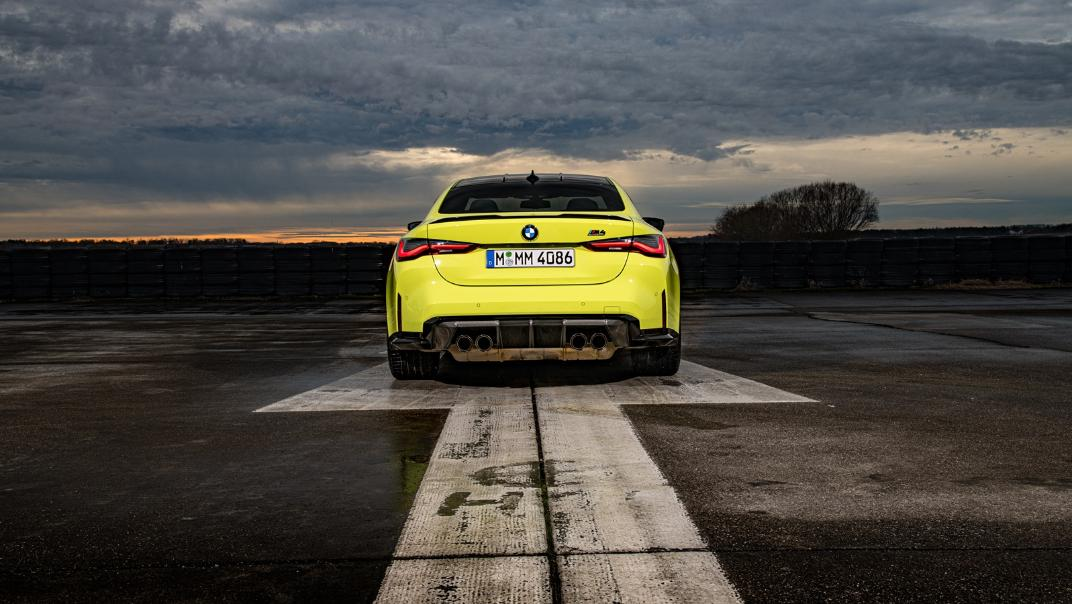 2021 BMW M4 Coupe Competition Exterior 012
