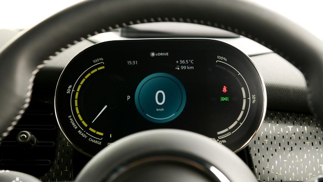 2021 Mini Cooper-Se Electric Interior 005