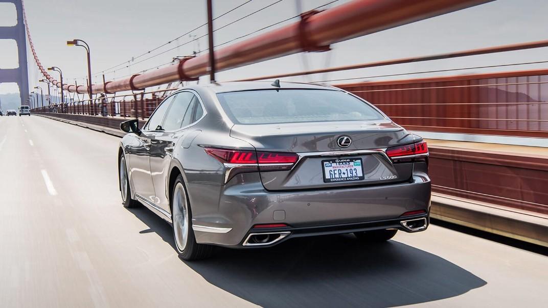 Lexus LS 2020 Exterior 019