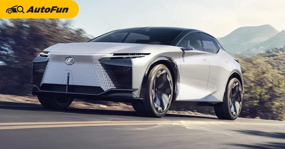 ยลโฉม Lexus LF-Z  รถยนต์ไฟฟ้า Lexus พลัง 500 กว่าแรงม้า คาดจะมาในปี 2025 01