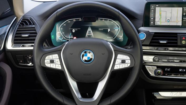 2021 BMW iX3 M Sport Interior 006