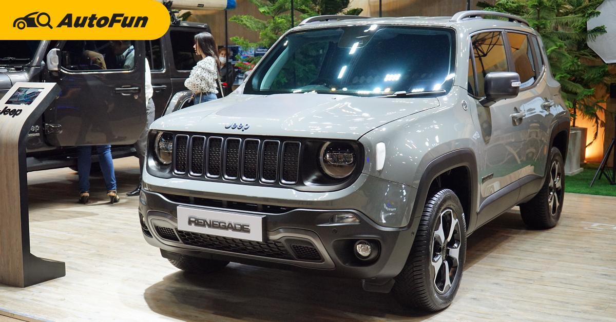 ชมคันจริง 2021 Jeep Renegade ขายไทยราคา 3.39 ล้านบาท ให้สเปคดีเหมือนอยู่อเมริกา 01
