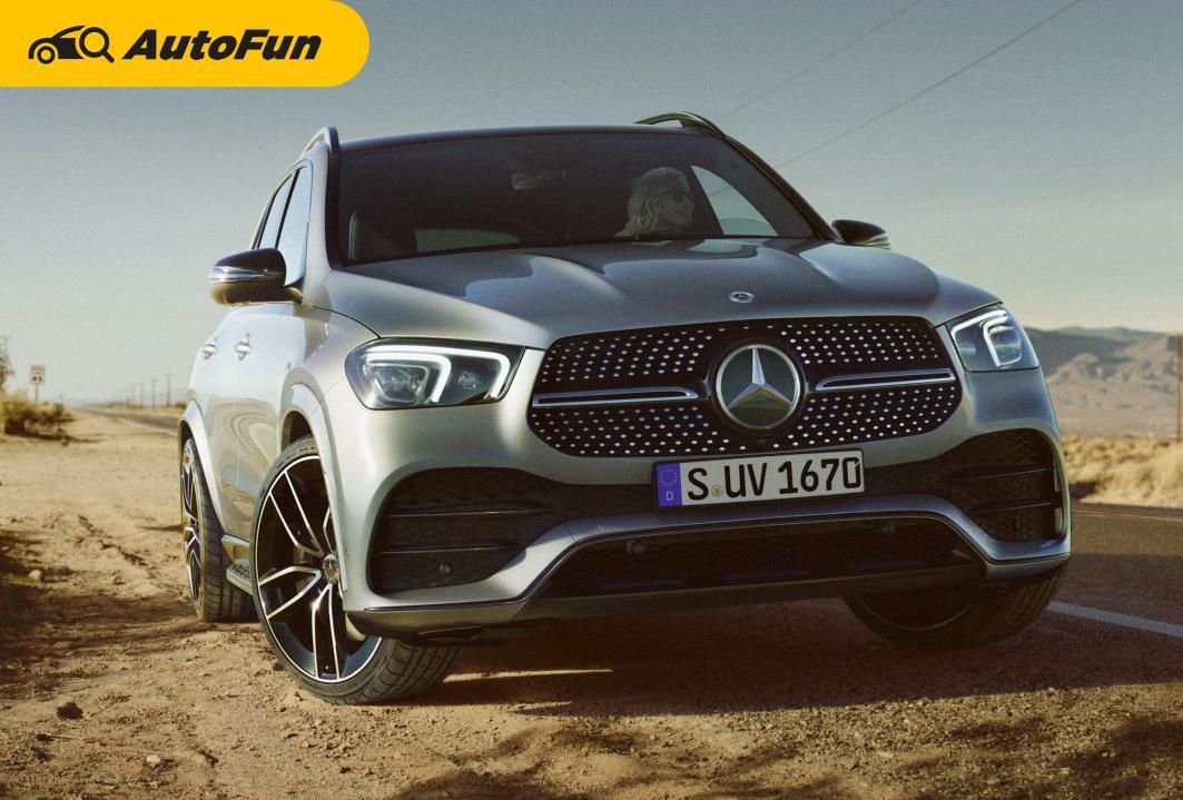 เทียบสเปกเอสยูวีดีเซลสัญชาติเยอรมัน 2019 Mercedes-Benz GLE 300d 4MATIC กับ 2019 BMW X5 xDrive30d M Sport 01
