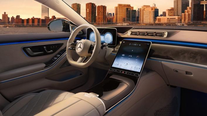 2021 Mercedes-Benz S-Class Interior 010
