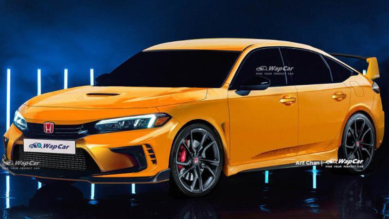เปิดภาพเรนเดอร์ 2022 Honda Civic Type R เติมเต็มความสปอร์ตแบบวัยกลางคน? 02
