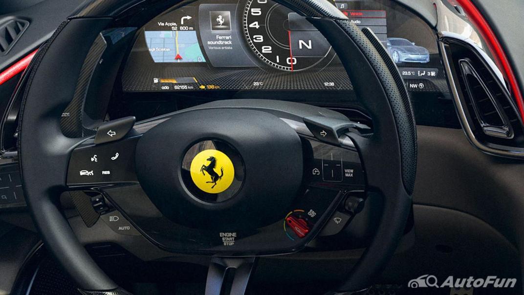 2020 3.9 Ferrari Roma Turbo Interior 002