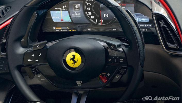 2020 Ferrari Roma 3.9 Turbo Interior 002