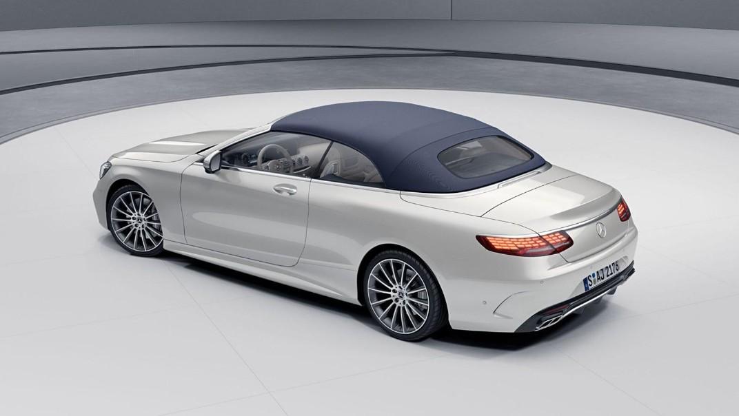 Mercedes-Benz S-Class Cabriolet 2020 Exterior 013