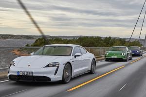 Porsche Taycann ขึ้นแท่นซีดานขายดีที่สุดในออสเตรเลีย แซงทั้ง Mercedes-Benz และ BMW