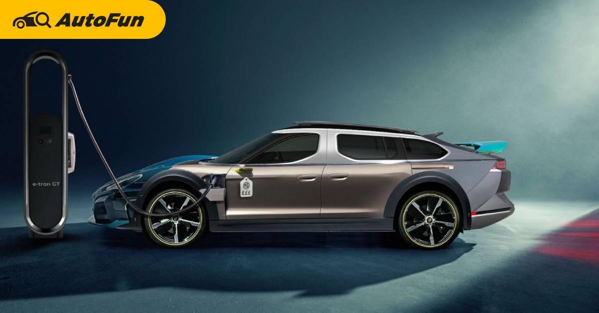 ถ้ารวมข้อดีของ EV ทุกรุ่นในคันเดียว จะเป็นยังไง ? ชาร์จแบบปอร์เช่ วิ่งแบบเบนซ์ ในราคาเท่า MG 01