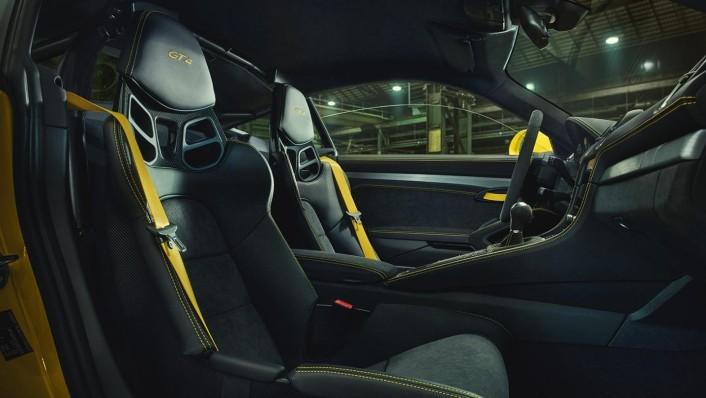 Porsche 718 2020 Interior 006