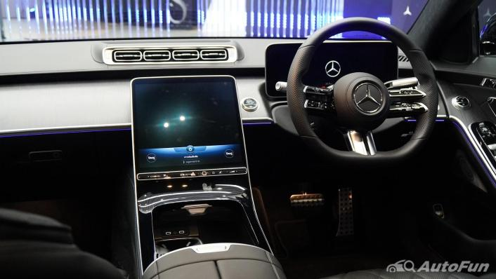 2021 Mercedes-Benz S-Class S 350 d AMG Premium Interior 002