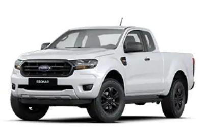 2020 Ford Ranger Double Cab 2.2L XLS Hi-Rider 6MT