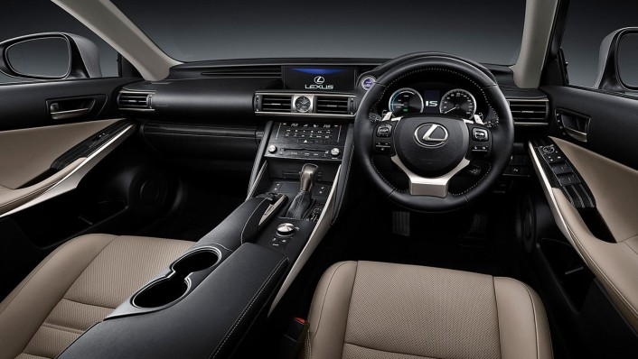 Lexus IS 2020 Interior 001